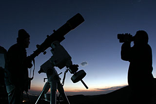 100 Hours of Astronomy: Observing the sky