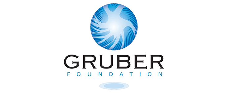 Gruber Foundation logo