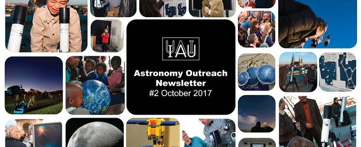 IAU Astronomy Outreach Newsletter #44 2017 (October 2017 #2)