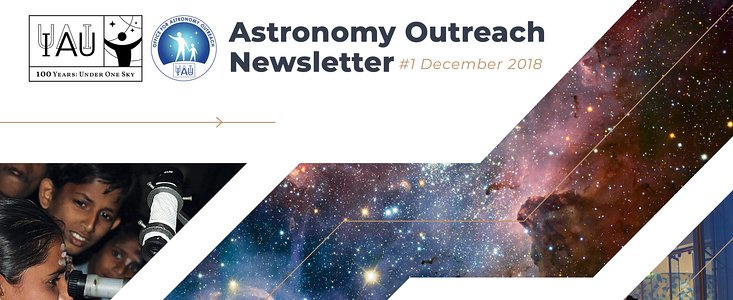 Astronomy Outreach Newsletter 2018 #23 (December #1)