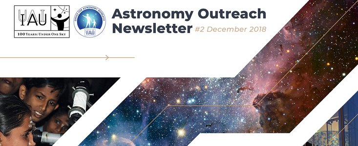Astronomy Outreach Newsletter 2018 #24 (December #2)