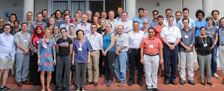 Photo of participants in the Transients 2020 Kavli–IAU Workshop