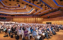 Voting session at the International Astronomical Union General Assembly 2018