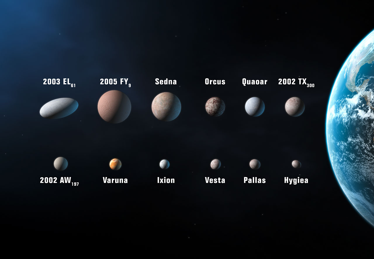 planet candidates in the solar system artist s impression