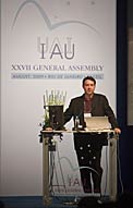Jim Bell at IAU General Assembly 2009
