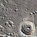 Kulthum Crater on Mercury