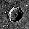 Rivera Crater on Mercury