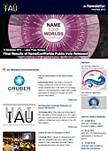 IAU e-Newsletter - Volume 2015 n°14