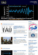 IAU e-Newsletter - Volume 2016 n°2
