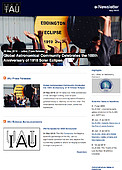 IAU e-Newsletter - Volume 2019 n°7