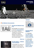 IAU e-Newsletter - Volume 2019 n°9